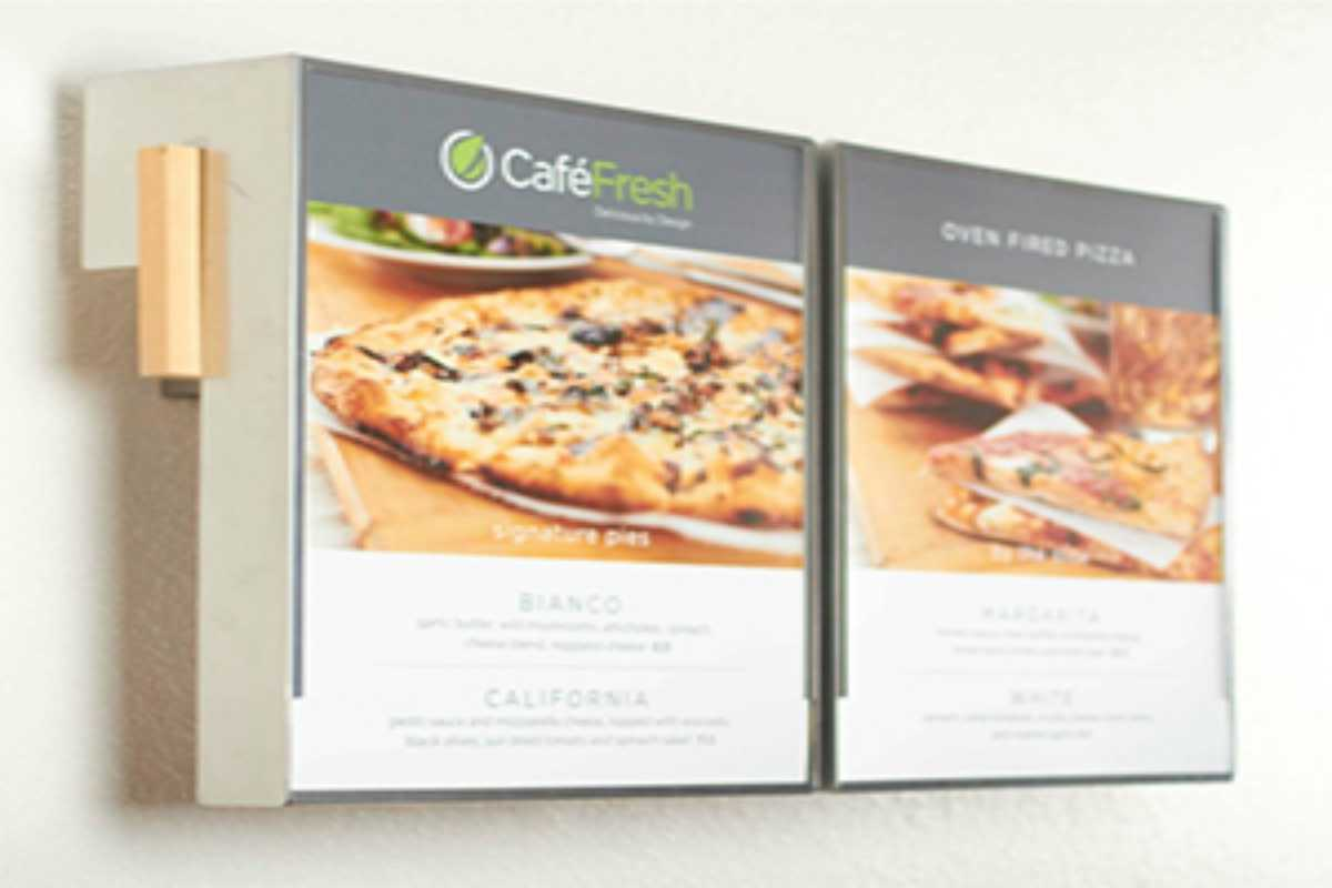 restaurant menus for Cafe Fresh
